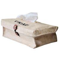 Boîtes de mouchoirs de tissus Chaîne de tissu Couverture Couverture Dessin animé Porte-serviette Papier Paper Papier pour Cuisine Voiture Toilette Conteneur