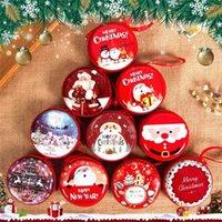 Creativity Christmas Children's Mini Toy Xmas Tree Pandents Santa Snowman Elk Cartoon Fashion Decoration Window Pendant Supplies Gifts