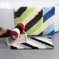Bath Mats 1PC Modern Style Mat High Quality Carpet Kitchen Door Living Room Floor Rugs Bathroom Water Absorption Rug
