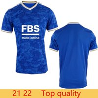 Top Thai quality 21 22 Leicester soccer jerseys 2021 2022 home CITY VARDY MADDISON TIELEMANS NDIDI camiseta de fútbol Fans men maillot de football shirt