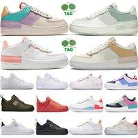 [code:OCTEU03] air force 1 Force one 1 Af1 más nuevos hombres altos mujeres blanco trigo uno zapatos malla uno para mujer diseñador de deporte zapatillas