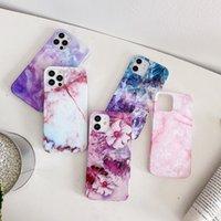 Semplici custodie per telefoni cellulari IMD di marmo liscio per iPhone 12 11 Pro Promax X XS XSMAX 7 8 PLUS