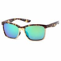 Klassische Costa Sonnenbrille Herren Anaa_580p Polarized UV400 PC-Objektiv Hohe Qualität Mode Marke Luxus Designer Sonnenbrille Für Frauen TR90 Silikonrahmen Fall