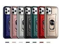 2 in 1 Rüstung Telefon Hüllen für iPhone 12 Mini PRO MAX XR XS 6 7 8 PLUS 11 SAMSUNG NOTE20 TPU Fall PC Hard Back Cover