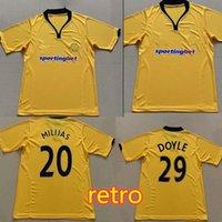 2009 Wolves Doyle Retro Soccer Jerseys 2010 Vintage Milijas Berra Henry Ebanks-Blake Kightly Home Camisas de futebol clássico
