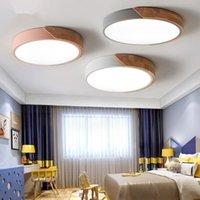 Lampada da soffitto a LED nordico moderno rotondo lampada a muro ultra-sottile per soggiorno cucina camera da letto luci