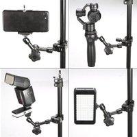 11in الذراع السحرية مع إصلاح معدني المشبك المضادة للانزلاق مجموعات متينة للتعديل للكاميرا LHB99 المثبتات