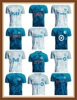 MLS 2021 x Parley PrinBlue Kit Soccer Jersey Toronto Orlando Philadelphia Birliği NYCFC City Austin Columbus Vancouver WhiteCaps D.C. United