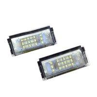 Not-Lichter MAULEDIFNT für LED-Lizenz-Piate-Lampe Fit E46 4D (98-03) Farbtemperatur 6500k Lebensdauer 30000 Stunden