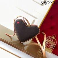 حقيبة حب جلد طبيعي المرأة الراقية حقيبة يد ميني كتف واحد