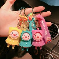 Personalized Cartoon Sweater Piggy Doll Lovers Backpack Pendant Creative Cute Key Ring Car