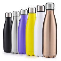 Горячие продажи 350 мл 500 мл 750 мл 1000 мл вакуумные бутылки из вакуумных вод из нержавеющей стали изоляционные чашки моды движения вегетарные кружки FY4130-33