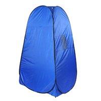 Tentes et refuges Camping Tente de pansement automatique avec un compte de fenêtre Auvent Voulement de toilettes en plein air pour le bain