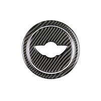 Углеродное волокно рулевое колесо кадр накладки для мини Serior r R55-R61 A