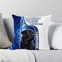 베개 케이스 Cloocl 애완 동물 개 래브라도 베개가 귀여운 동물 쿠션 커버 침대 자동차 소파 홈 장식 드롭