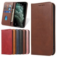 Leather Flip Cases For Samsung Galaxy S21 Ultra Plus A82 A72 A52 A42 A32 A22 A12 A03s A71 A51 A31 A21s Magnetic Wallet Card Phone Case