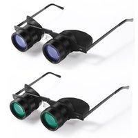 Fischerbrille Fernglas Teleskope 10x34 wasserdichte HD Nachtsicht Fernglas tragbares superleichter Fischteleskop für die Jagd im Freien