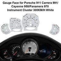 Dashboard Enstrüman Retrofit Yüz Plaka Polyester Film 958 / Panamera 970/911 Carrera 991 Ölçer Diagnostic Araçları Yüzleri