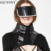 Gafas de sol de Rhinestone Overzizado Mujeres 2021 Hombres Diamond Mask Gafas de sol Designer de la marca Gafas de sol Gafas Espejo Eyewear Black