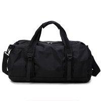 Yoga Bag Colorful Black Pink Red Blue Fitness Sports Foldable Gym Bag Lightweight Workout Travel Gear Large Bag 210506