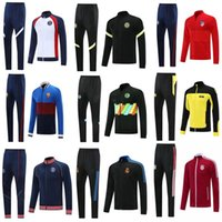 Men's Suits & Blazers Top Quality 2022 Adult Kit Long Sleeves Jcket Uniforms Tracksuits Soccer Sport Jersey 21  22 Train Coat