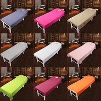 Pillow Case Beauty Massage Bed Table Cover Salon Spa Couch Sheets Bedding 80cm*190cm PICK
