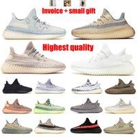 Kanye West 3M Zapatillas de correr luminosa para hombres Cincillo de mujer Caebra Luz de la luz reflectante Islamabad Sneakers Sneakers Tamaño 36-48 y la mitad