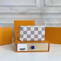 "KEY POUCH M62650 POCHETTE CLES Designer Keychains ring Credit Card Holder Coin Purse Luxury Mini Wallet shoulder Bag Charm HandbagsLV""LOUIS""VITTON VUTTON"