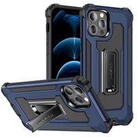 (قضية فون) عالية الجودة محطم القضية مقاومة لفون 12 برو ماكس 12 ميني 11 برو ماكس xs ماكس x xr iphone 7 8 زائد SE غطاء الهاتف مع حامل عودة حالة وقائية كاملة