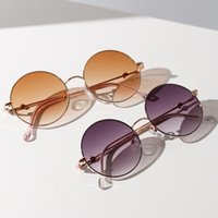 Sunglasses Women Driving Mirrors Vintage for Women Reflective Flat Lens Sun Glasses Female 2021 New Oval Alloy Adult WEIXINBUY
