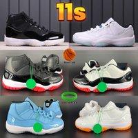 Más nuevos Hombres 11 11s Zapatillas de baloncesto 25 aniversario bajo Legend University Blue Blue Blanco Citrus Pantone Trainers Mens Sneakers US 5.5-13