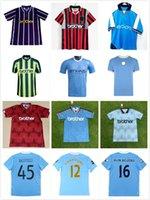 Retro Classic 2011 2012 Haaland Dzeko Soccer Jerseys 1972 1989 1991 1998 1999 2000 2000 Silva Tevez Kun Aguero Kompany Toure Yaya Balotelli 11/12 كرة القدم قميص S-2XL