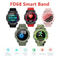 FD68 Smartband USB Wristbands T500 Smart Watch Heart Rate Bl...