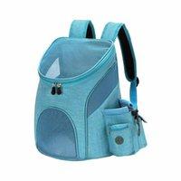Haustierträger-Rucksack für Katzen Hundetasche mit belüftetem Mesh-Komfort tragbare zusammenklappbare Carry Car-Sitzbezüge