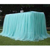 Jupe de table Fil de neige Fil d'anniversaire de mariage Vérification du gâteau de la couleur Solide Couleur Solide Souffre surround Souffre Vêtement gris 30LD M2 QCin