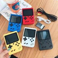 Mini Jugadores portátiles de mano retro Los jugadores de videos pueden almacenar 400 Sup juegos de 8 bits de 3.0 pulgadas LCD colorido