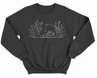 Outdoor Graphic Printed Sweatshirt Women Nature Funny Outfits Long Sleeve Crewneck Sweats Vegan Tops Women's Hoodies & Sweatshirts
