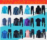 2021/2022 Sporne Erwachsene Trainingsanzug Del Chandal 1920 2021 Celso Ndombele Polo Shirt Football Jacken Training Anzug Joggen.