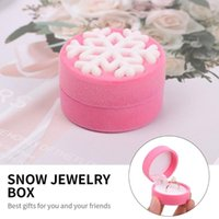 Chains Gift Functional Display Holder Necklace Box Container Snow Jewelry Package