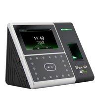 """Système de reconnaissance faciale ZK iface302 Visage d'identification d'empreinte digitale Temps de présence et de contrôle d'accès Terminal de contrôle d'accès 4.3 """"écran tactile"""