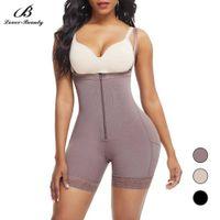 Amante beleza mais tamanho shapewear lifter bodisuits cintura treinador espartilho corset timmudim calcinha mulheres pós-parto pós-parto cinto t200824