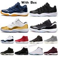 Jordan 11 AJ 11 jumpman 11 Jubilee 25th Yıldönümü 11 Erkekler Basketbol Ayakkabıları Yangın Kırmızı 4 Sneakers Bred 11s Gamma Mavi Concord Alan Reçel Siyah Kedi Beyaz Çimento