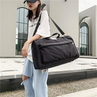 Duffel Bags Women's Travel Bag Large Capacity Luggage Shoulder Handbags Nylon Waterproof Sports Yoga Gym Weekend Tote Packing Cubes