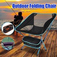 Chaise de pêche pliante en plein air Portable Randonnée léger Pique-nique Camping Camping Tabouret Accessoires