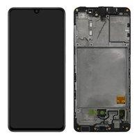 ЖК-дисплей для Samsung Galaxy A41 A415 A415F OEM AMOLED Экран Панель Панели Digitizer Сборка с рамкой
