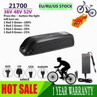 48 V 20Ah Batteria 52V Batteria elettronica Bike 36V Hailong Plus 40A BMS 21700 Cell Bafang BBSHD Bbs01 Bbs02