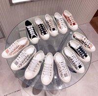 كلاسيكيات نوعية النساء أحذية الاسيوب رياضة الطباعة سنيكر التطريز قماش منخفضة أعلى منصة الأحذية الفتيات من home011 08