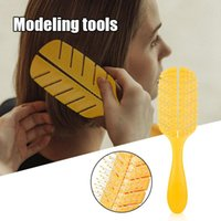 Hair Brushes Leaf Shape Detangling Brush Hollow Wet & Dry Comb For Thick Thin Curly Straight Massage Men Women SK88