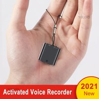 Digital Voice Recorder 2021 Alloy Metal Magnetic Adsorption Mini Professional Smart Activated Audio Recording MP3 Music Player