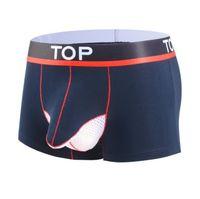 Underpants Brand Classic Basic Quality Model Men's Separation Underwear Boxer Shorts Mens Trunks Sexy Panties Gay Sleepwear